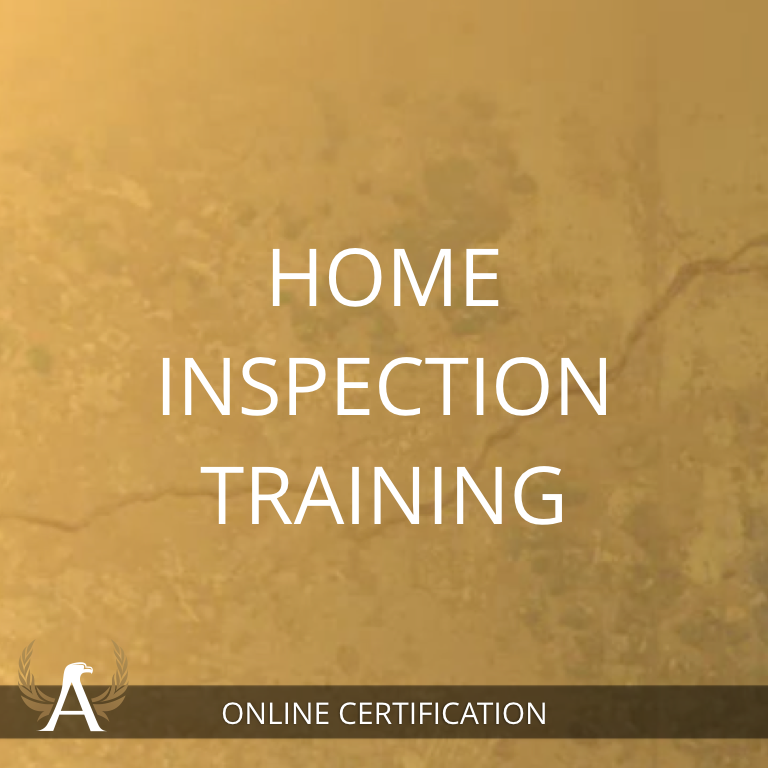 Home Inspection Training - Online Certification